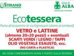 Alba: ecotessera con premi per chi porta i rifiuti all'ecocentro