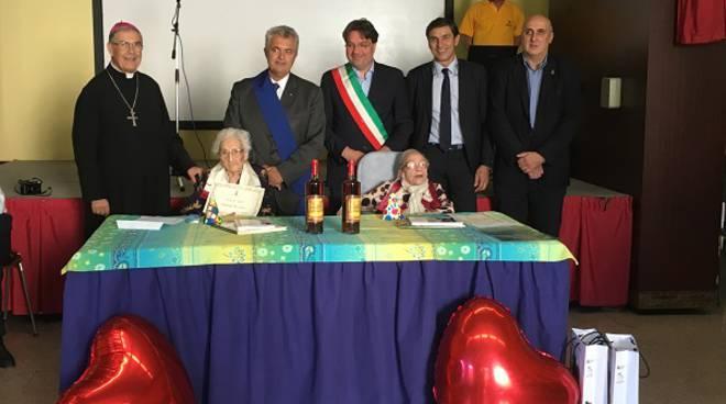 Asti: festeggiate due nuove centenarie