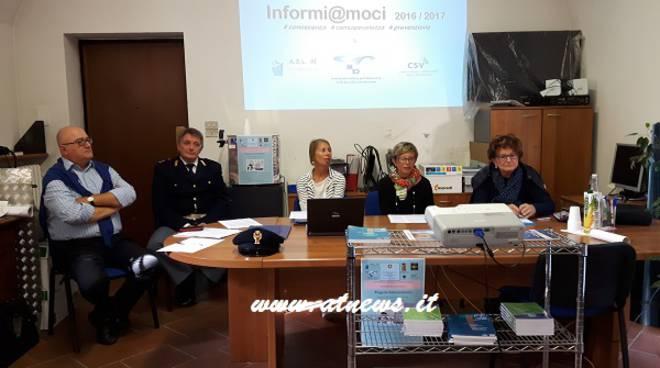 Asti, presentato Informi@moci il progetto rivolto alle scuole per un uso consapevole di internet