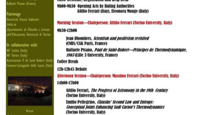 Conte Paolo Ballada di Saint Robert, a Pino Torinese un Convegno internazionale sullo scienziato