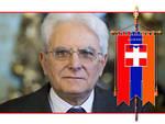 Il Presidente Mattarella conferisce la medaglia d'oro al gonfalone della Regione Piemonte