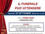 """L'ADA di Asti in scena stasera a Carmagnola con """"Il funerale può attendere"""""""