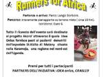 """Runners for Africa"", sabato 8 ottobre si cammina per beneficenza"