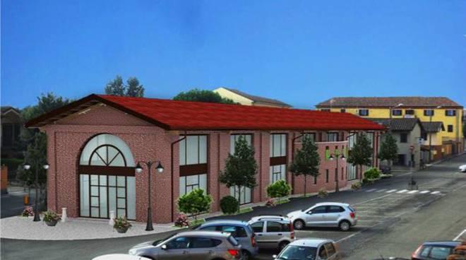 San Damiano, il sindaco Mauro Caliendo illustra la ristrutturazione del Foro Boario