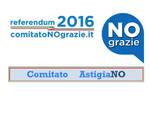 """Asti, costituito il comitato referendario """"No Grazie"""""""