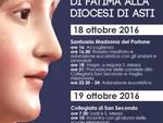 Asti, in arrivo l'immagine pellegrina della Madonna Nostra Signora di Fatima
