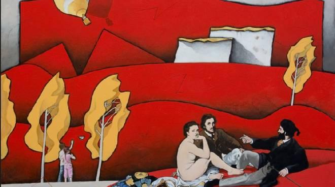 """Canelli, domani l'inaugurazione della mostra """"Colazione sull'erba"""" di Giancarlo Ferraris"""