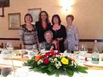 Domenica Mombaruzzo ha festeggiato la sua centenaria