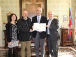 Il progetto territoriale del Museo del Tartufo itinerante consegnato ad Alberto Valmaggia