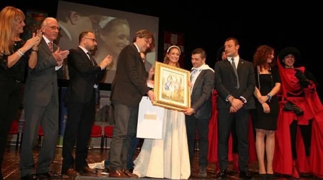 La damigella del Palio 2016 è Ilaria Pistillo del Rione Cattedrale