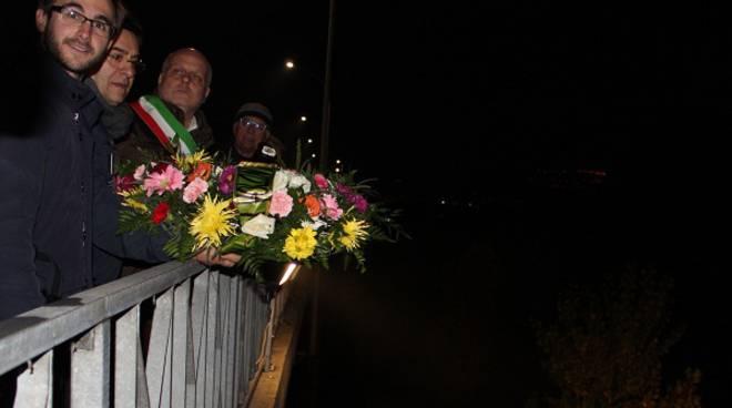 Alba ha ricordato le nove vittime dell'alluvione del 5 e 6 novembre 1994