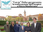 """Asti. """"Con te"""" Onlus per presentare la realizzazione dell'hospice a Nizza Monferrato"""