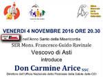 Asti, domani il Vescovo Francesco Ravinale incontra Don Carmine Arice