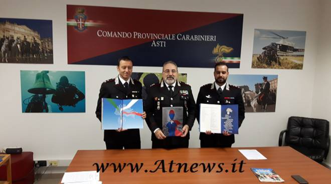 Asti, presentato il Calendario Storico 2017 dell'Arma dei Carabinieri