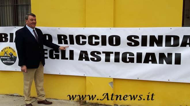 """Biagio Riccio scende in campo e si candida come """"Sindaco degli astigiani"""""""