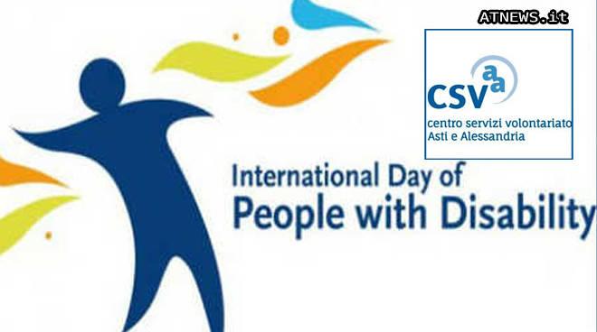 Giornata internazionale delle persone con disabilità. Ad Asti una settimana di iniziative.