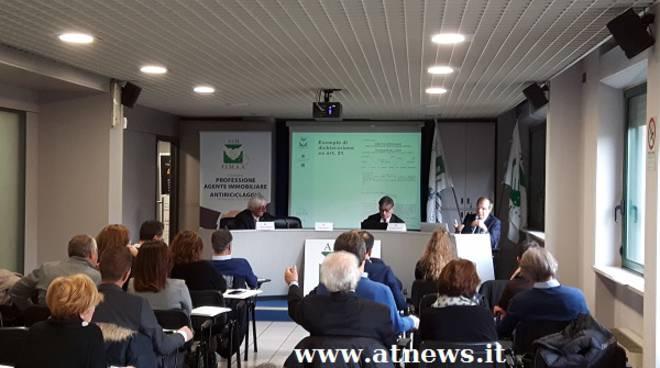 Interesse e partecipazione per il convegno FIMAA Asti sulla professione di Agente Immobiliare