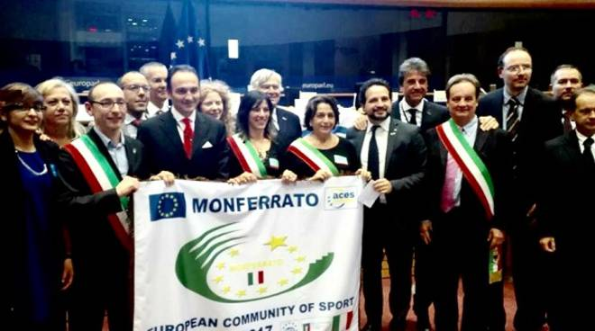 """L'Eurodeputato Cirio sul Monferrato Comunità Europea dello Sport: """"Un premio all'impegno che però va riconosciuto anche nei bandi europei"""""""
