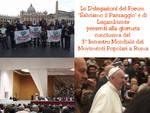 Legambiente Asti con il Forum Salviamo il Paesaggio da Papa Francesco