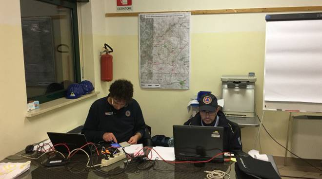 Terremoto: continua l'impegno della Protezione Civile Piemontese nelle zone colpite