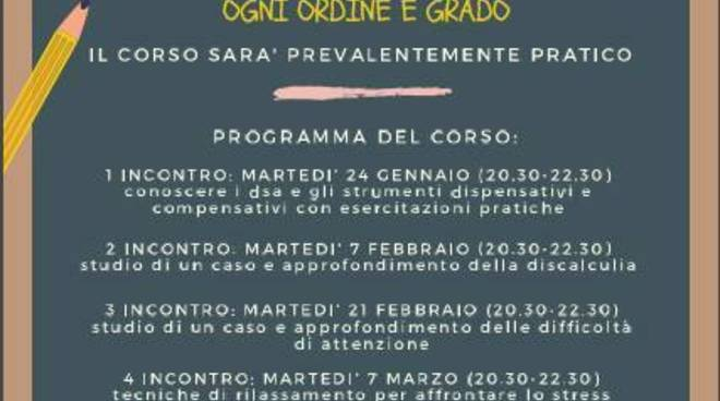 Al Centro Imparamare di Asti, il corso per insegnanti ''DSA in pratica''
