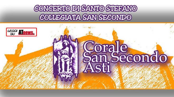 Asti, appuntamento di Santo Stefano con il concerto della Corale San Secondo