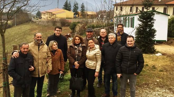 Consegnate a tre aziende agricole terremotate le casette acquistate da quattro Cia del Piemonte