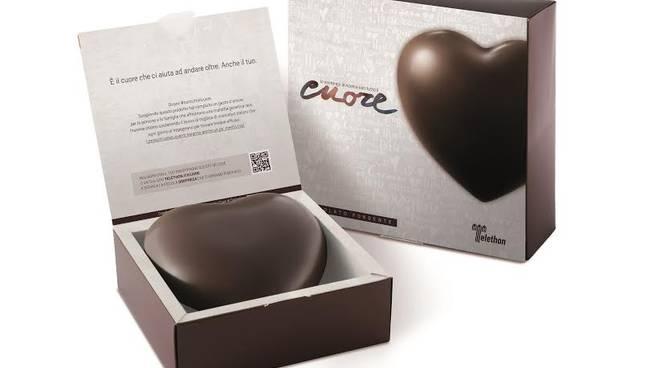 Cuori di cioccolato Telethon nelle piazze di Asti