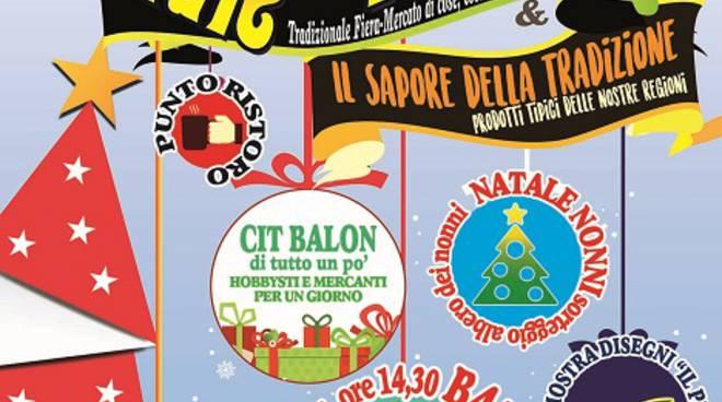 """Domenica a San Paolo Solbrito ritorna il """"Natale in Bancarella"""""""