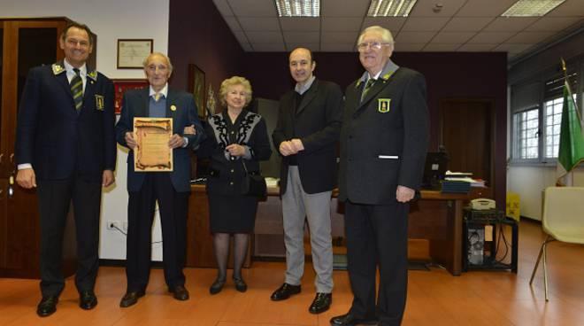 Festeggiato dall'Anfi di Asti il 90° compleanno del socio Pasqualino D'Arino
