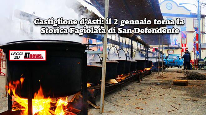 Il 2 gennaio torna la Storica Fagiolata di Castiglione d'Asti