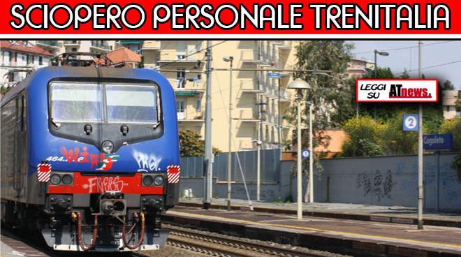 Piemonte: venerdì 9 dicembre sciopero del personale Trenitalia
