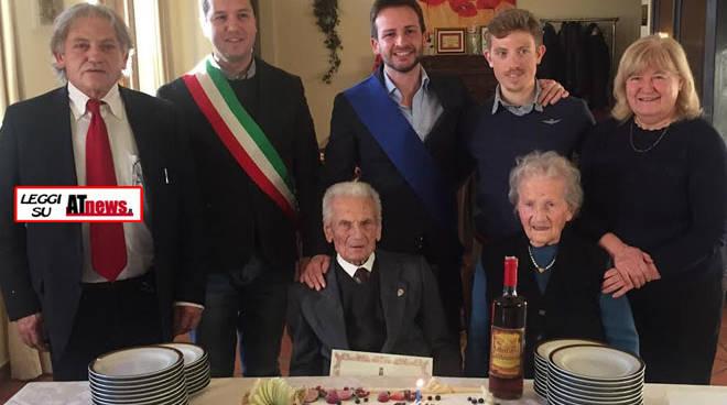 100 Candeline per Natale Gallo di San Damiano d'Asti