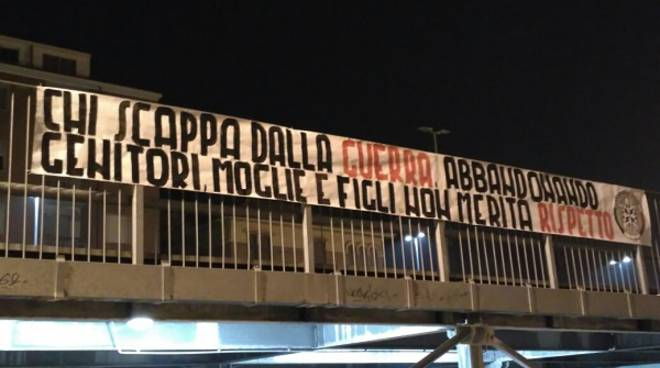 Anche ad Asti la campagna 'shock' di CasaPound contro gli immigrati