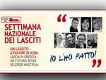 Asti. XIII Edizione della settimana nazionale dei lasciti AISM