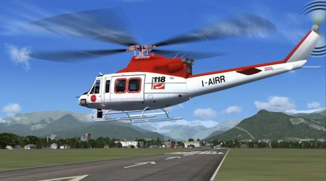 Emergenza in Centro Italia, inviato in Abruzzo un elicottero del 118 piemontese