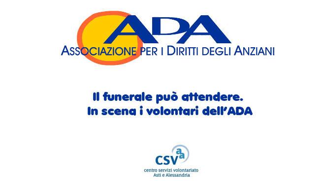"""Ferrere. """"Il funerale può attendere"""" in scena con i volontari dell'ADA"""