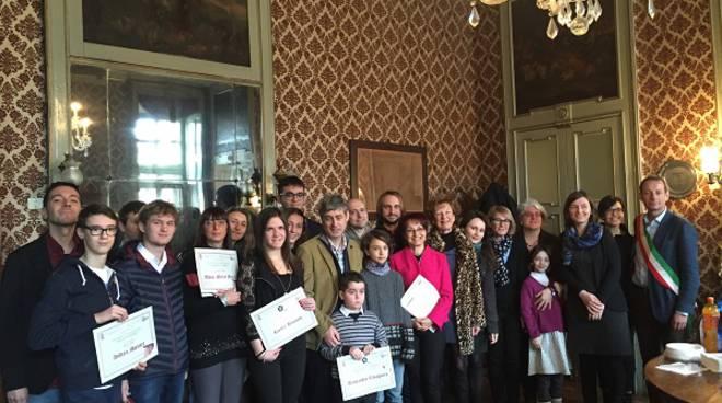 San Damiano d'Asti, premiati i vincitori del Premio letterario Daneo e del book trailer Campassi