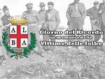 Alba, Giorno del Ricordo: una corona nel giardino di corso Matteotti per le vittime delle foibe