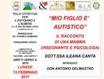 Autismo: se ne parla a San Damiano d'Asti con una mamma e psicologa