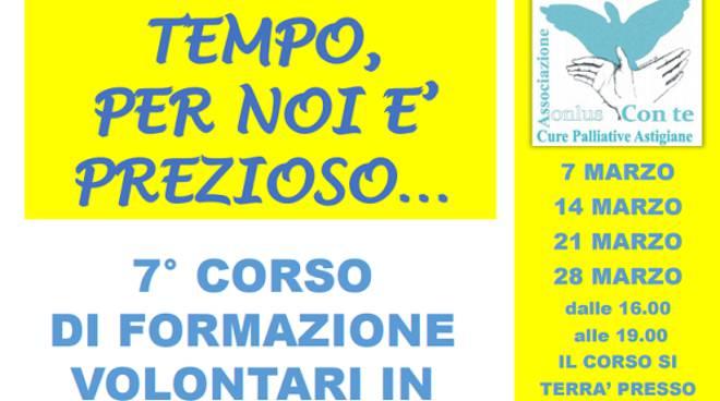 Con te Onlus: a Nizza Monferrato un corso per diventare volontari di cure palliative in hospice