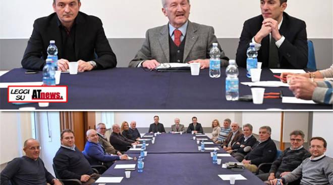I Costruttori Astigiani incontrano l'On. Cirio ed il Presidente Gabusi