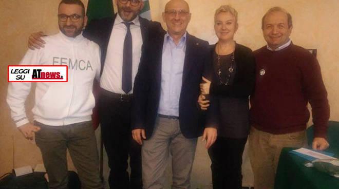 Marengo riconfermato alla guida della FEMCA CISL Alessandria-Asti