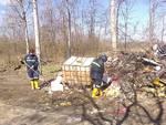 Ripulita dai Volontari della Protezione Civile di Asti l'Area SIC Stagni di Belangero