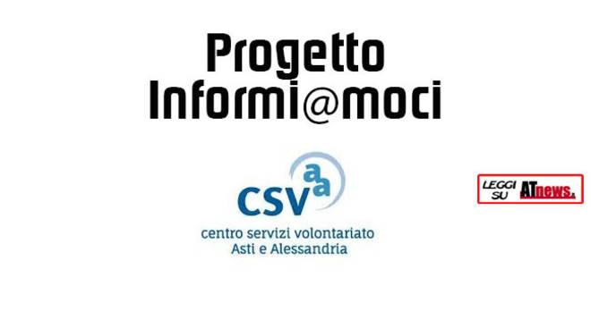 Ad Asti e Nizza Monferrato i prossimi appuntamenti con Informi@moci
