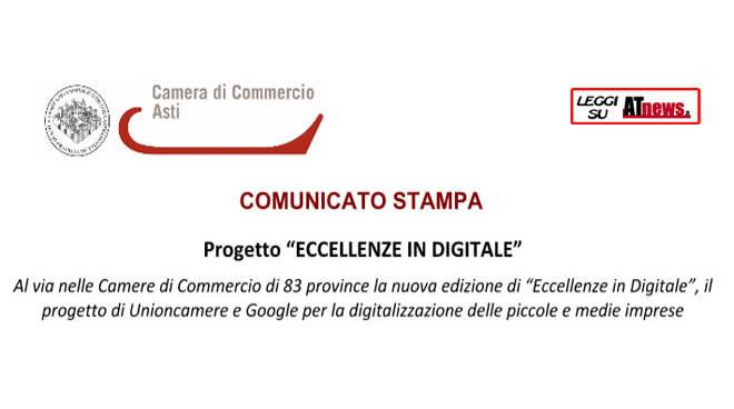 """Al via la nuova edizione di """"Eccellenze in Digitale"""", per la digitalizzazione delle piccole e medie imprese"""