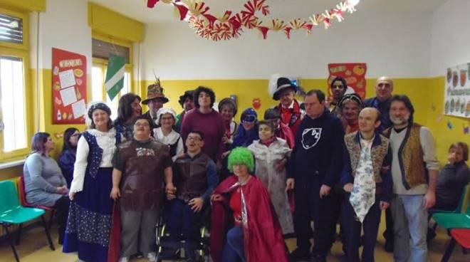 Asti, al Centro diurno Santo Spirito è andato in scena il Carnevale