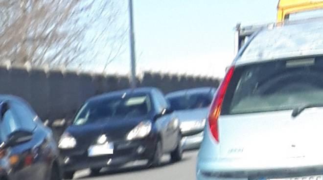 Asti, traffico rallentato in corso Savona per un incidente