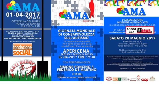 Asti, tutte le iniziative AMA per la Giornata Mondiale per l'autismo