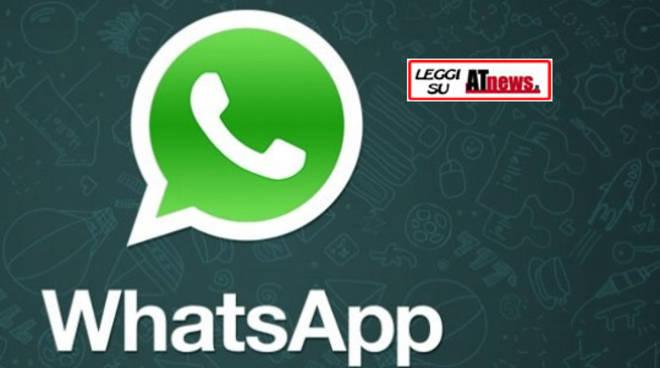 Entra anche tu nella community di Atnews.it e iscriviti al servizio breaking news con WhatsApp
